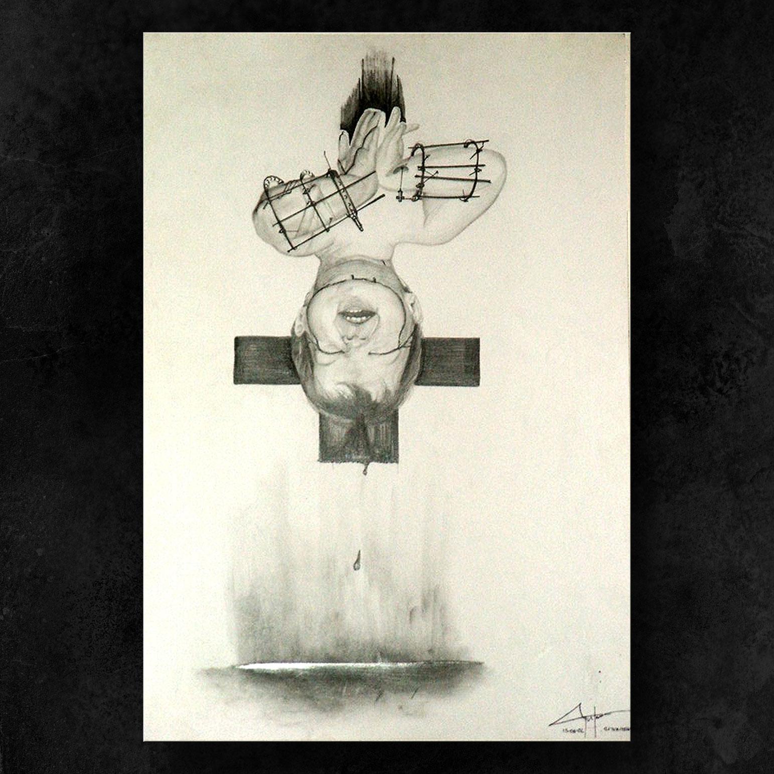 La Crocifissione: Autoritratto